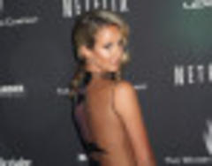 Lady Victoria Hervey Raises Eyebrows In Completely Sheer Dress At The Golden Globes After-Party